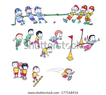 Kids sports day stock photos images amp pictures shutterstock