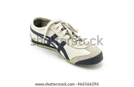 sport shoes on white