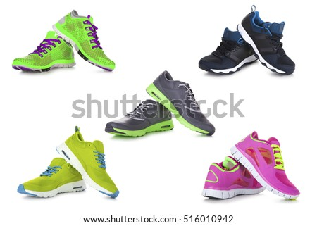 Sport shoes set