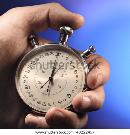 sport timer - stock photo