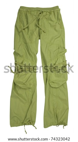 sport trousers - stock photo