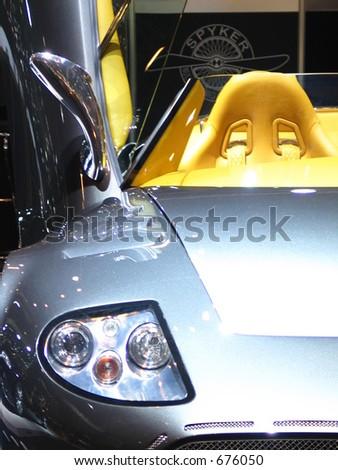 Sports Car - stock photo