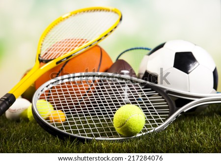 Sports Equipment - stock photo