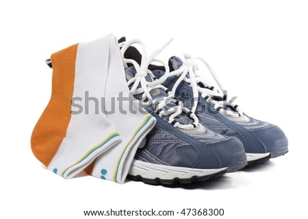 Sports footwear - stock photo