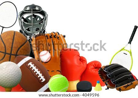 Sports Gears - stock photo