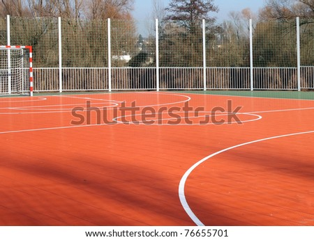 sports ground - stock photo