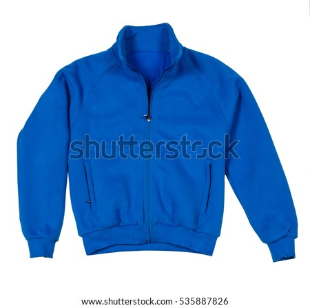 sports jacket on a white background
