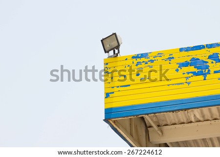 sports lighting  - stock photo