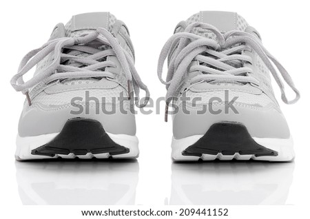 Sports shoes. - stock photo