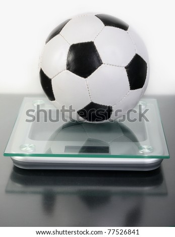 Sports. To dump excess weight of a body. - stock photo