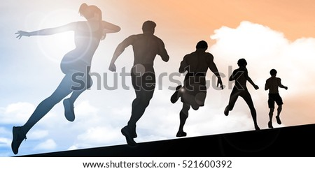 Sports Training Abstract Background Illustration Concept 3d Render
