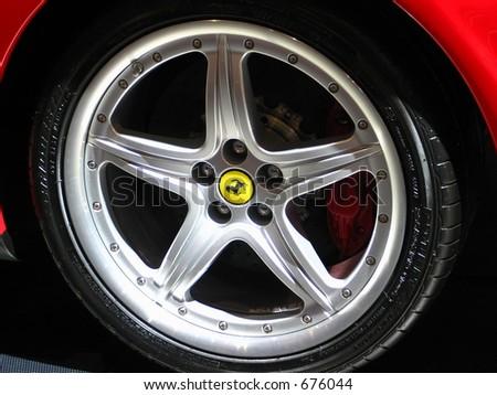 Sports Wheel - stock photo