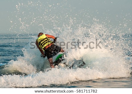 Water Bike Stock Images Royalty Free Images Vectors Shutterstock