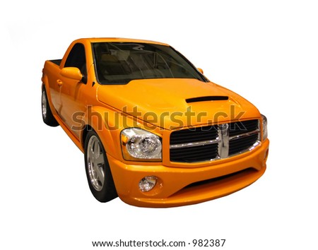 Sporty Truck - stock photo