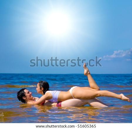 Sporty Women - stock photo