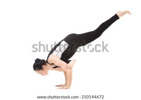 Crow pose Stock Photos, Images, & Pictures | Shutterstock