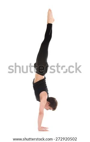 handstand stock photos royaltyfree images  vectors