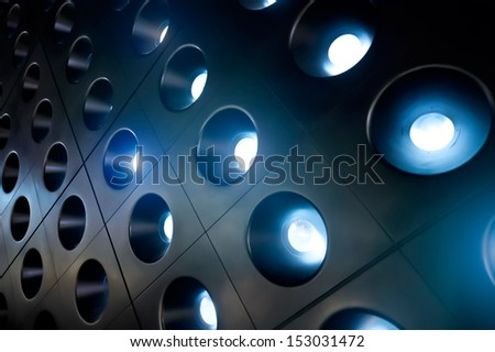 spotlights 06 - stock photo