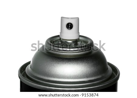 spray can nozzle - stock photo