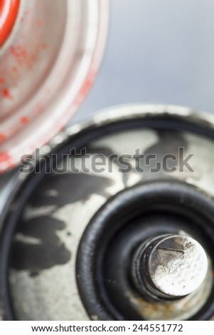 Spray paint can - stock photo