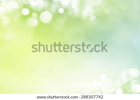 Spring background  de-focus - stock photo