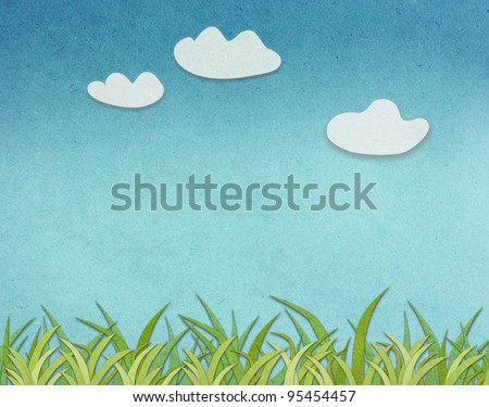 Spring Background Paper - stock photo