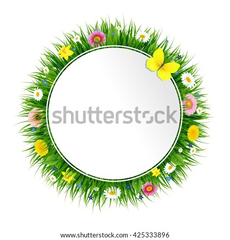 Spring Banner  - stock photo