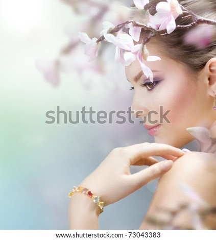Beauty Stock Photos Spring Beauty stock photo
