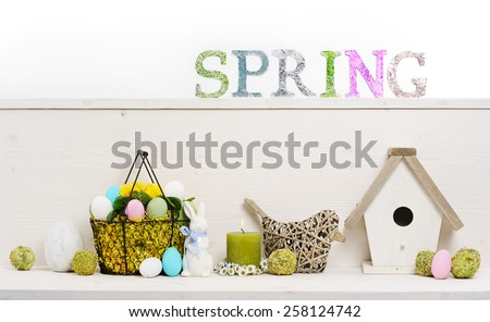 spring decoration - stock photo