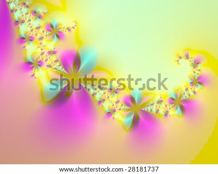Spring fantasy - stock photo