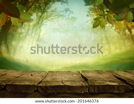 Spring green background. Grass and cloudscape art Design. Summer environmetal landscape concept. - stock photo