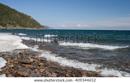 Spring in the south of Lake Baikal