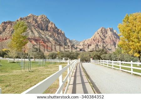 Spring Mountain State Park - stock photo