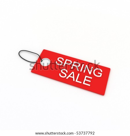 Spring Sale - stock photo
