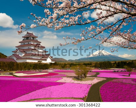 Spring Season in Japan - stock photo