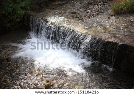 springs and mountain streams