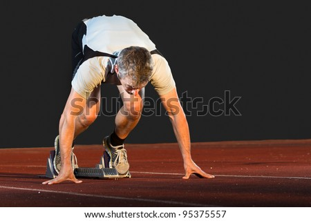 sprintstart in track and field