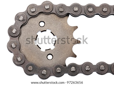 Sprocket - stock photo