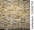 Square brick wall texture and background - stock photo