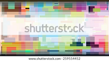 Square Color Full Abstract Background Graphic Design