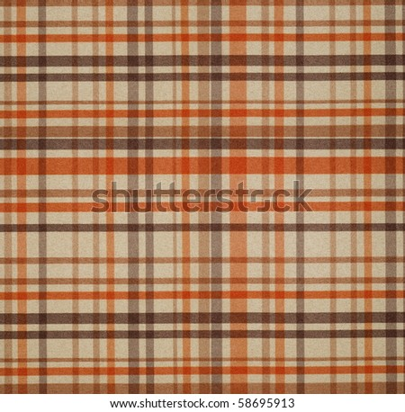 square fabric of tartan texture - stock photo