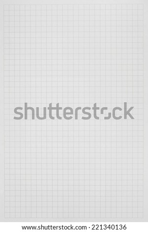 Square grid paper - stock photo