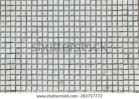 Square mosaic elements for background. - stock photo