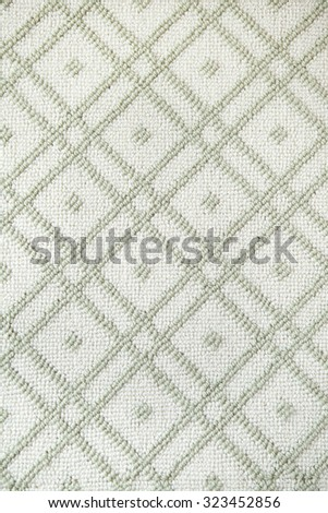 Square Rectangle Fabric Pattern - stock photo