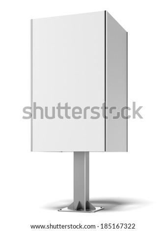 square white banner - stock photo