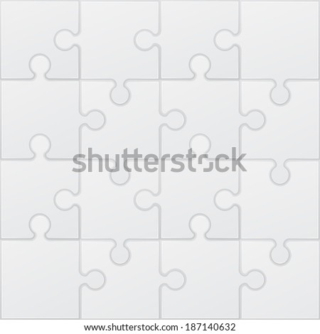 square white puzzle illustration