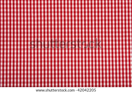 Squared pattern background in red and white. - stock photo