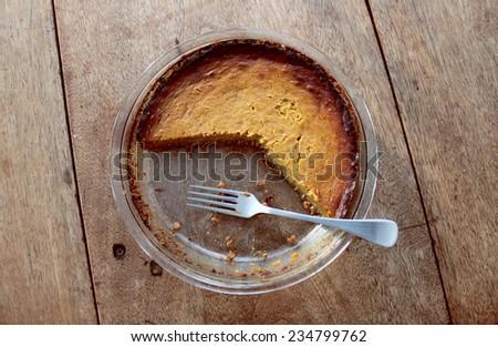 Squash Pie - stock photo