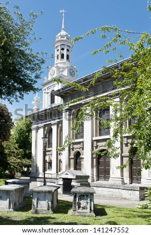 St Alfege church,  Greenwich, England