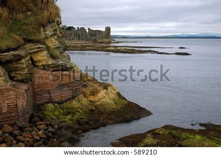 St Andrew's Scotland - stock photo